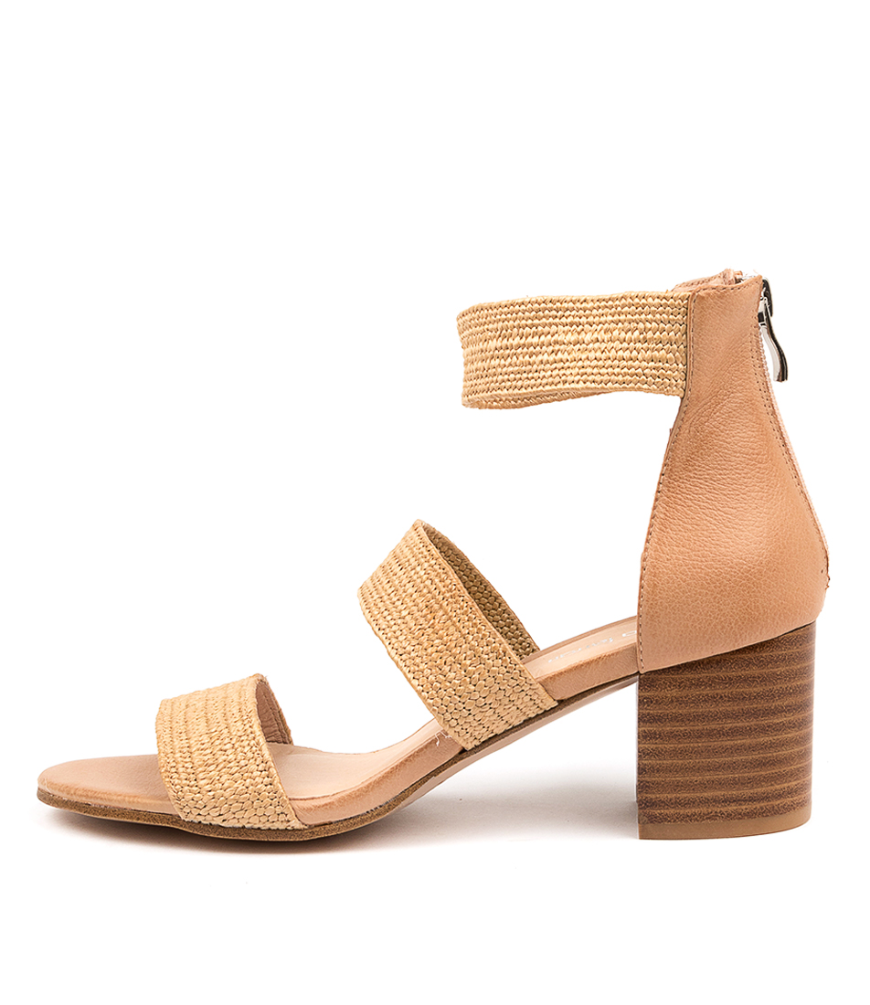 Buy Diana Ferrari Riveria Df Natural Latte Heeled Sandals online with free shipping