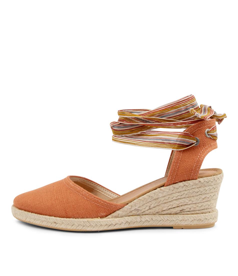 Buy Diana Ferrari Madmos Df Burnt Orange High Heels online with free shipping