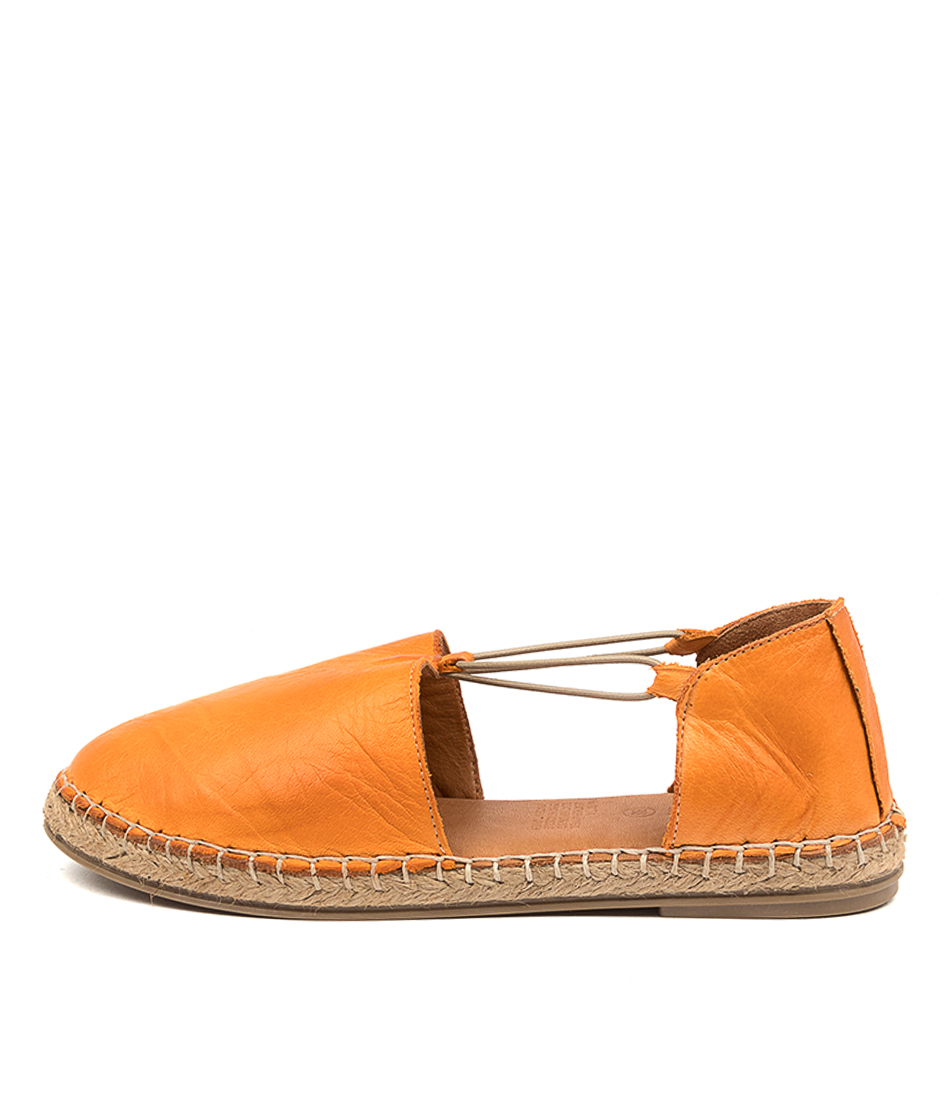 Buy Diana Ferrari Umta Df Orange Flats online with free shipping