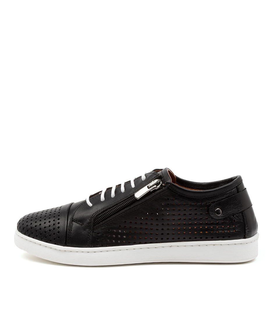 Buy Diana Ferrari Audie Df Black Sneakers online with free shipping