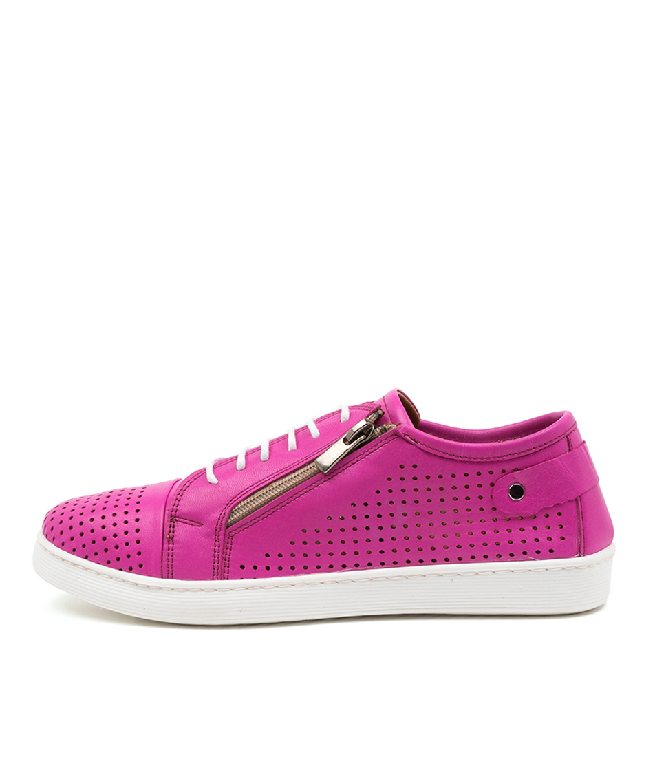 Buy Diana Ferrari Audie Df Fuchsia Sneakers online with free shipping