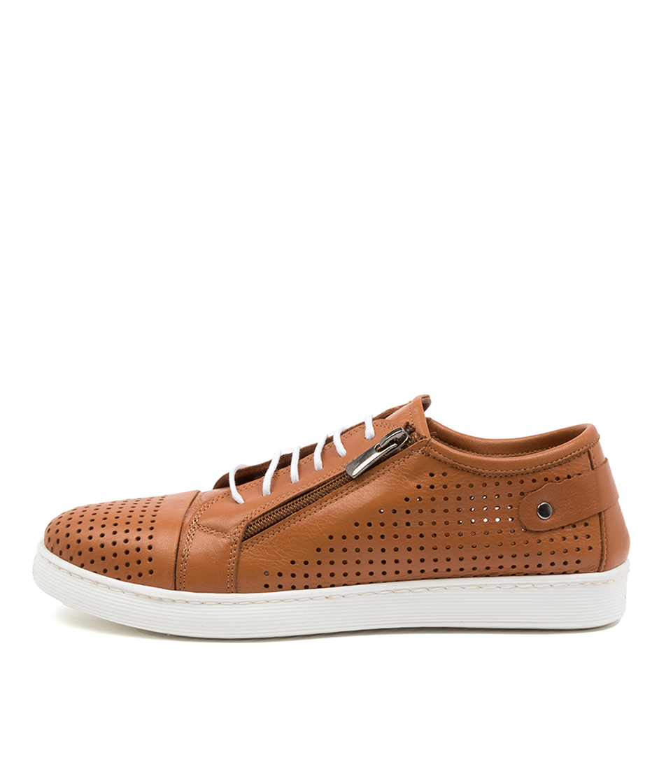 Buy Diana Ferrari Audie Df Tan Sneakers online with free shipping