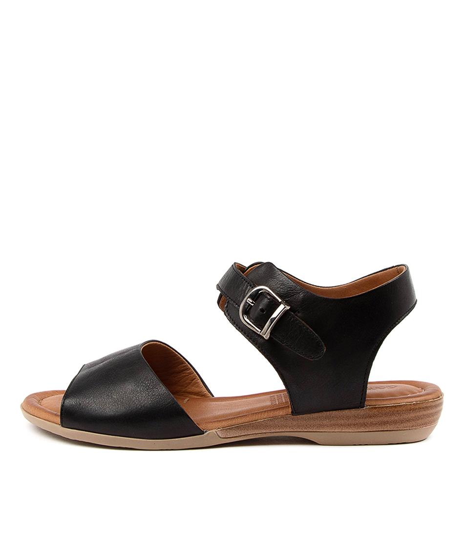 Buy Diana Ferrari Adelita Df Black Flat Sandals online with free shipping