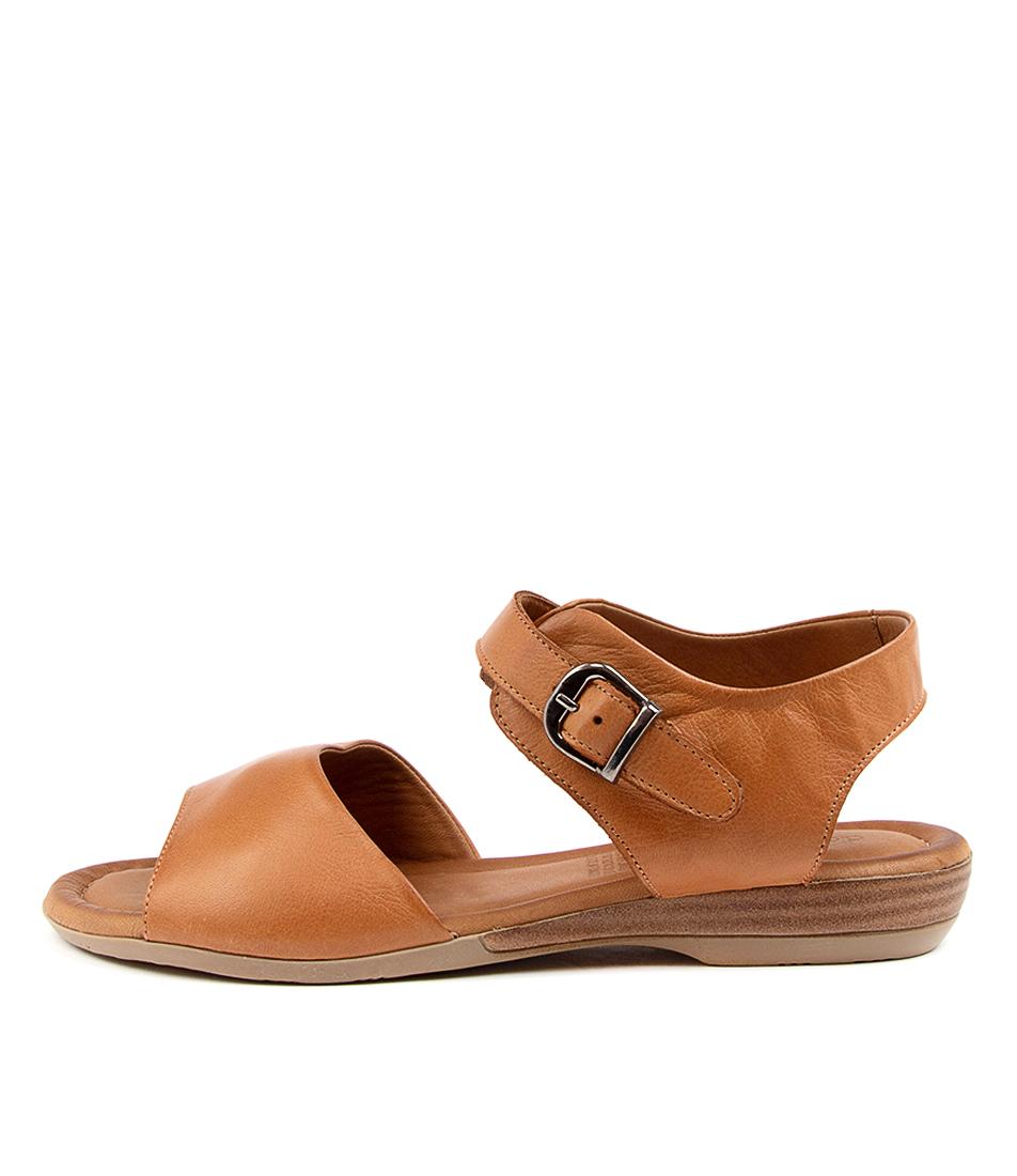 Buy Diana Ferrari Adelita Df Tan Flat Sandals online with free shipping