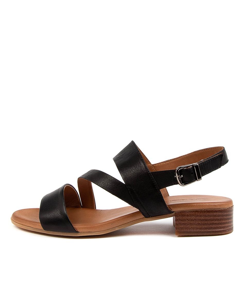 Buy Diana Ferrari Camelia Df Black Heeled Sandals online with free shipping