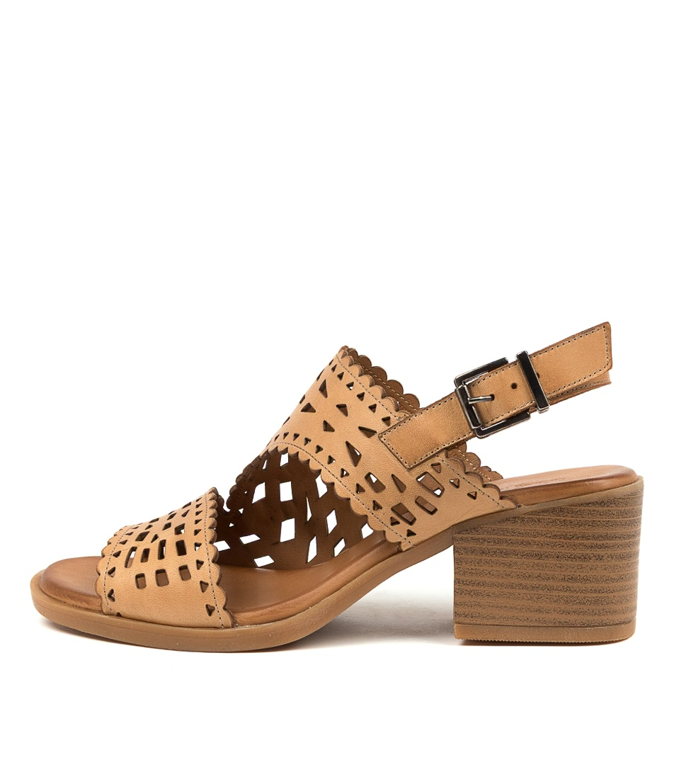 Buy Diana Ferrari Ilaria Df Biscuit Heeled Sandals online with free shipping