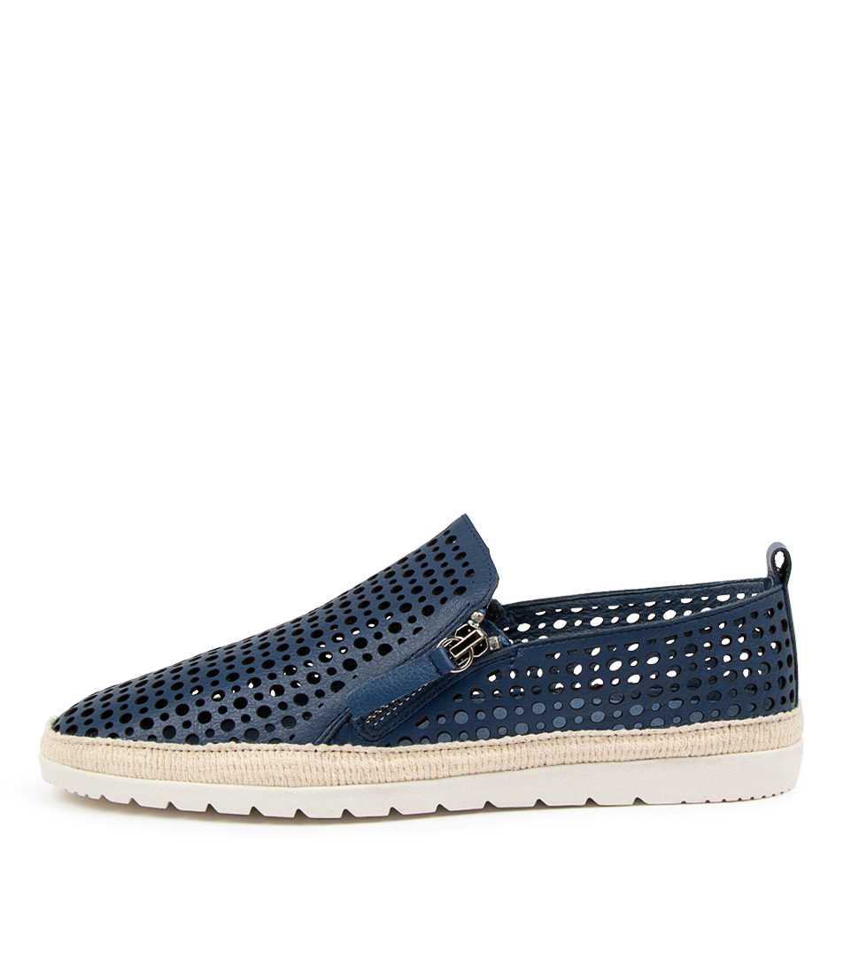 Buy Diana Ferrari Aroam Df Blue Flats online with free shipping