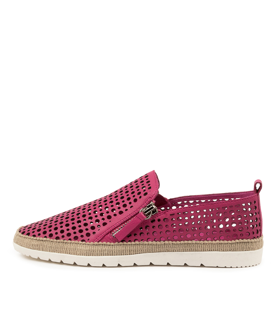 Buy Diana Ferrari Aroam Df Fuchsia Flats online with free shipping