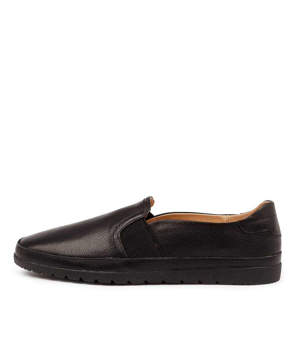 Buy Diana Ferrari Aisling Df Black Black Sole Flats online with free shipping