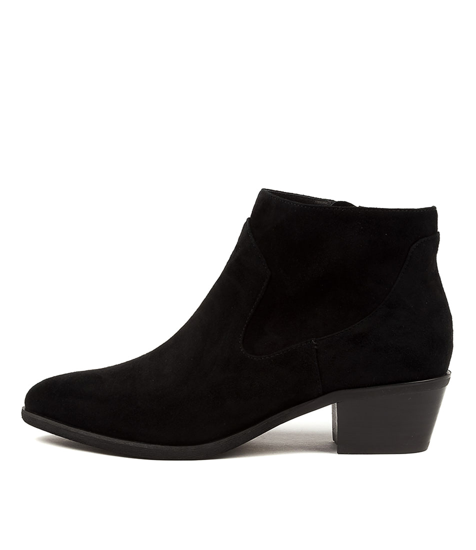Buy Diana Ferrari Alurt Df Black Ankle Boots online with free shipping