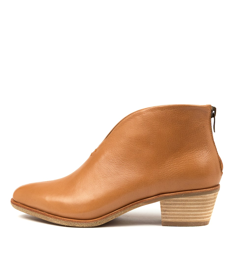 Buy Diana Ferrari Arame Df Dk Tan Ankle Boots online with free shipping