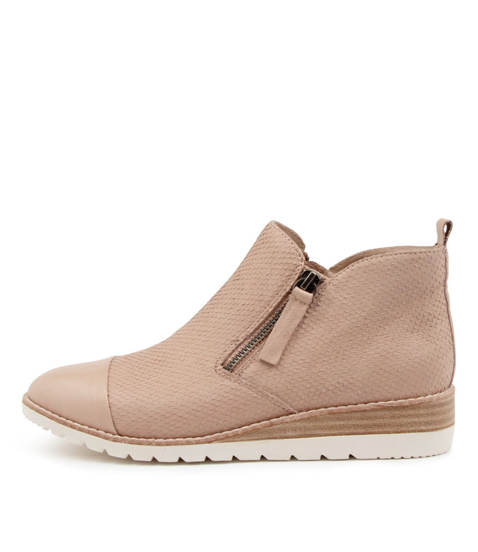 Buy Diana Ferrari Beston Df Dk Nude Ankle Boots online with free shipping
