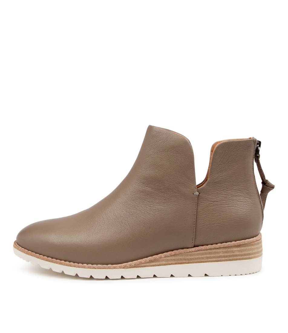 Buy Diana Ferrari Bunite Df Taupe Ankle Boots online with free shipping