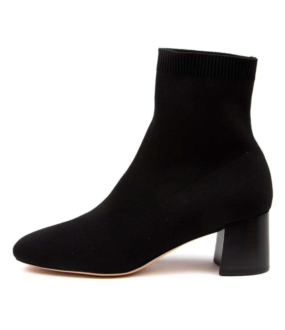Buy Diana Ferrari Carlta Df Black Ankle Boots online with free shipping