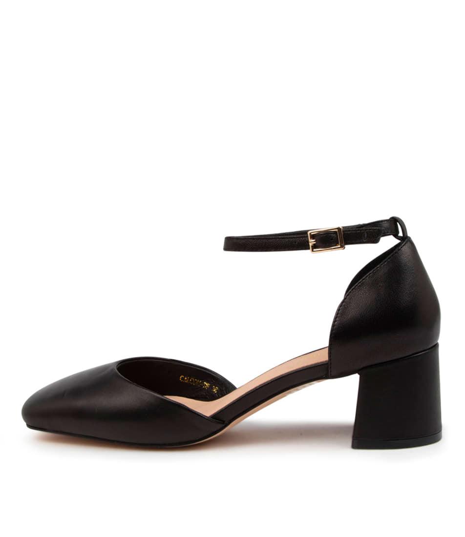 Buy Diana Ferrari Calcom Df Black High Heels online with free shipping