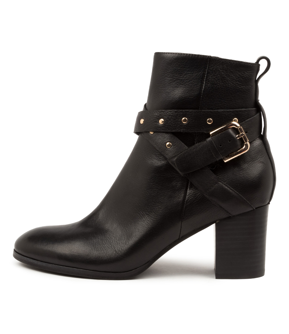 Buy Diana Ferrari Danni Df Black Heel Ankle Boots online with free shipping