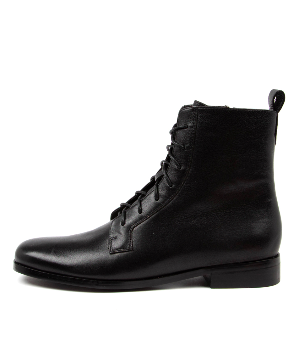 Buy Diana Ferrari Fiolet Df Black Black Heel Ankle Boots online with free shipping