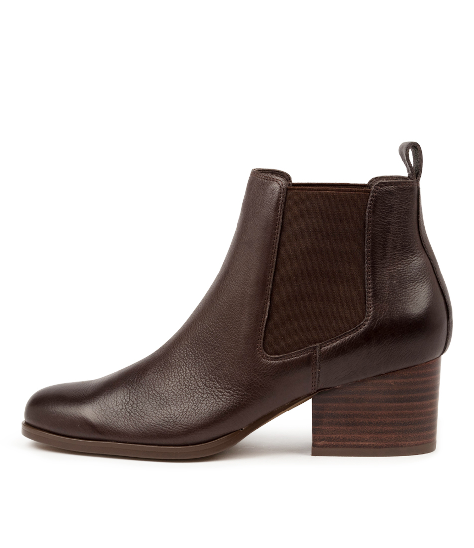 Buy Diana Ferrari Soera Df Dk Brown Ankle Boots online with free shipping