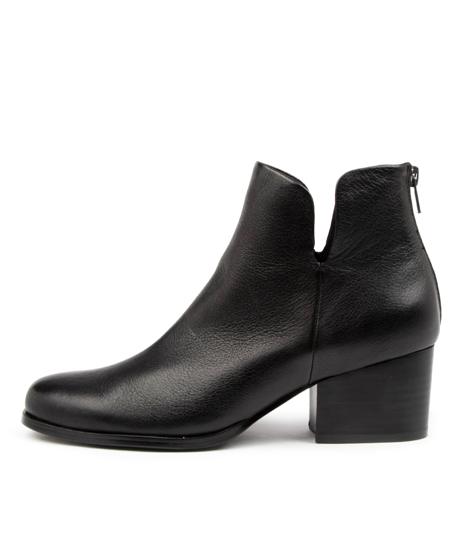 Buy Diana Ferrari Suty Df Black Heel Ankle Boots online with free shipping