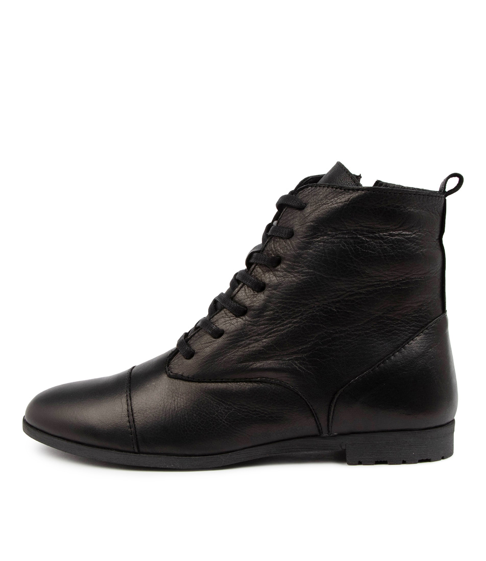 Buy Diana Ferrari Bandat Df Black Ankle Boots online with free shipping