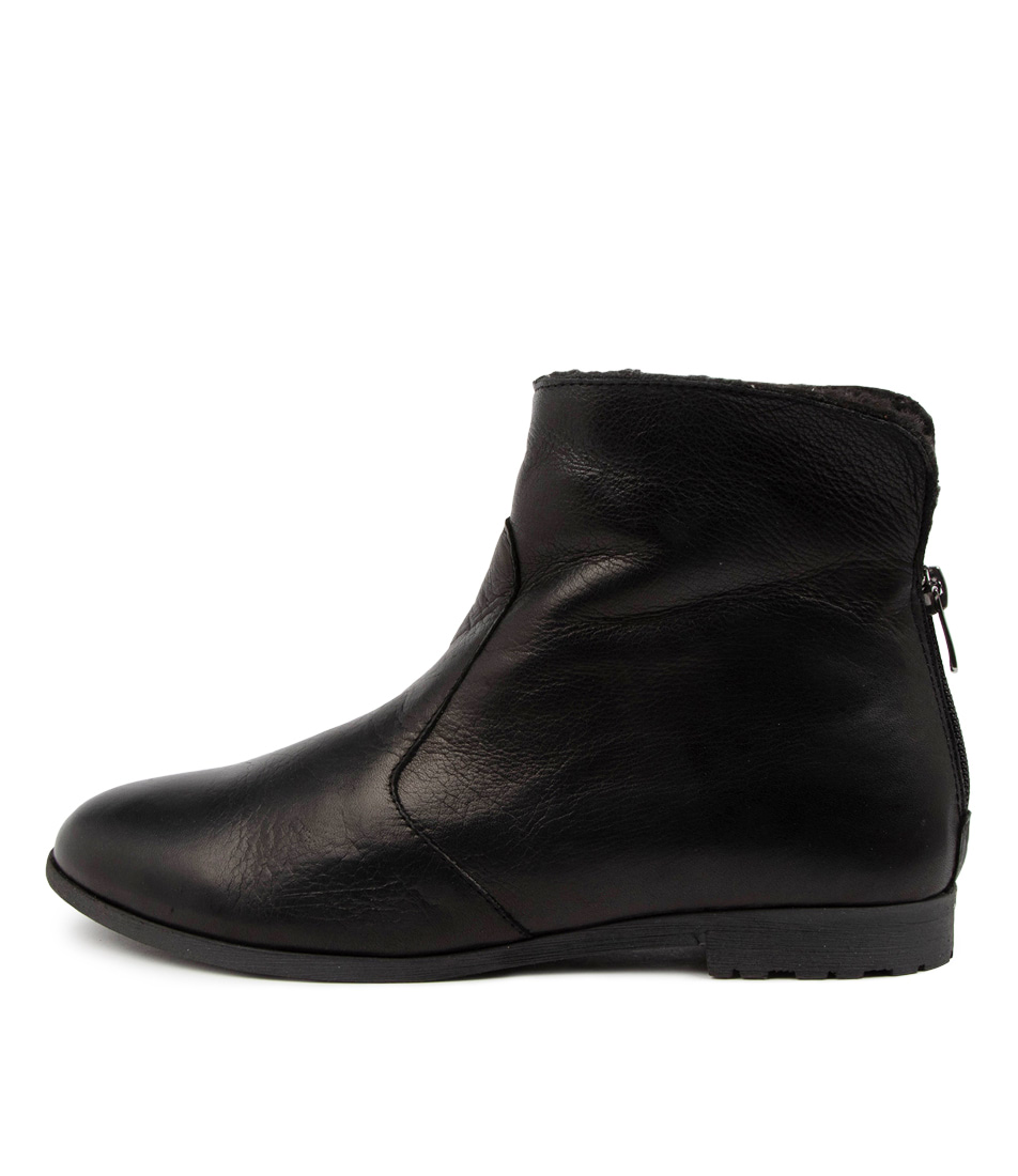 Buy Diana Ferrari Bovely Df Black Ankle Boots online with free shipping