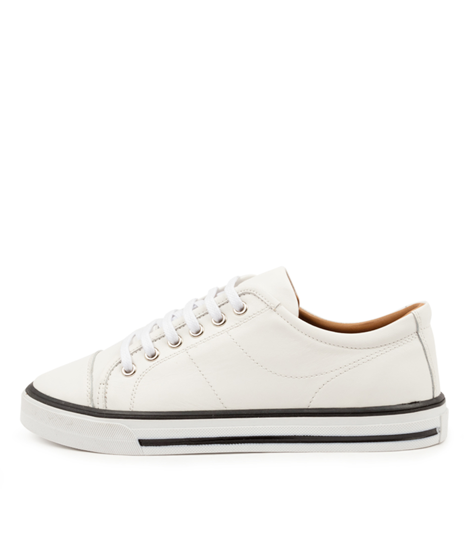 Buy Diana Ferrari Dragon Df White Sneakers online with free shipping