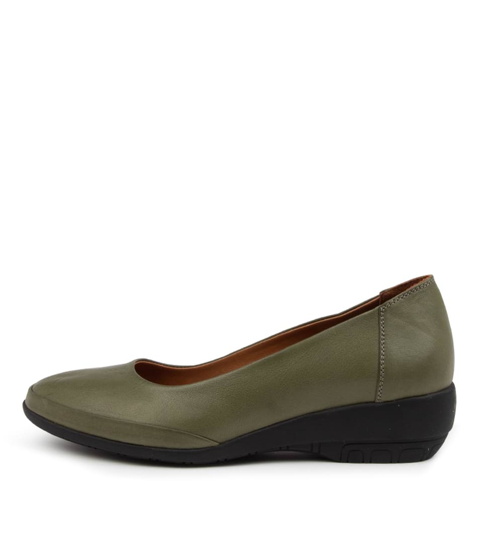 Buy Diana Ferrari Geanize Df Olive High Heels online with free shipping