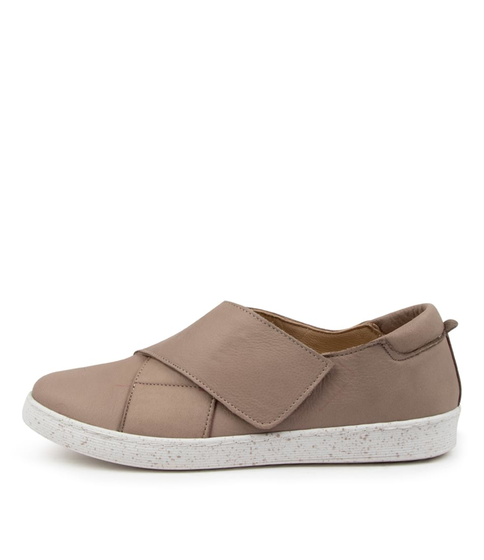 Buy Diana Ferrari Sassienia Df Taupe Sneakers online with free shipping