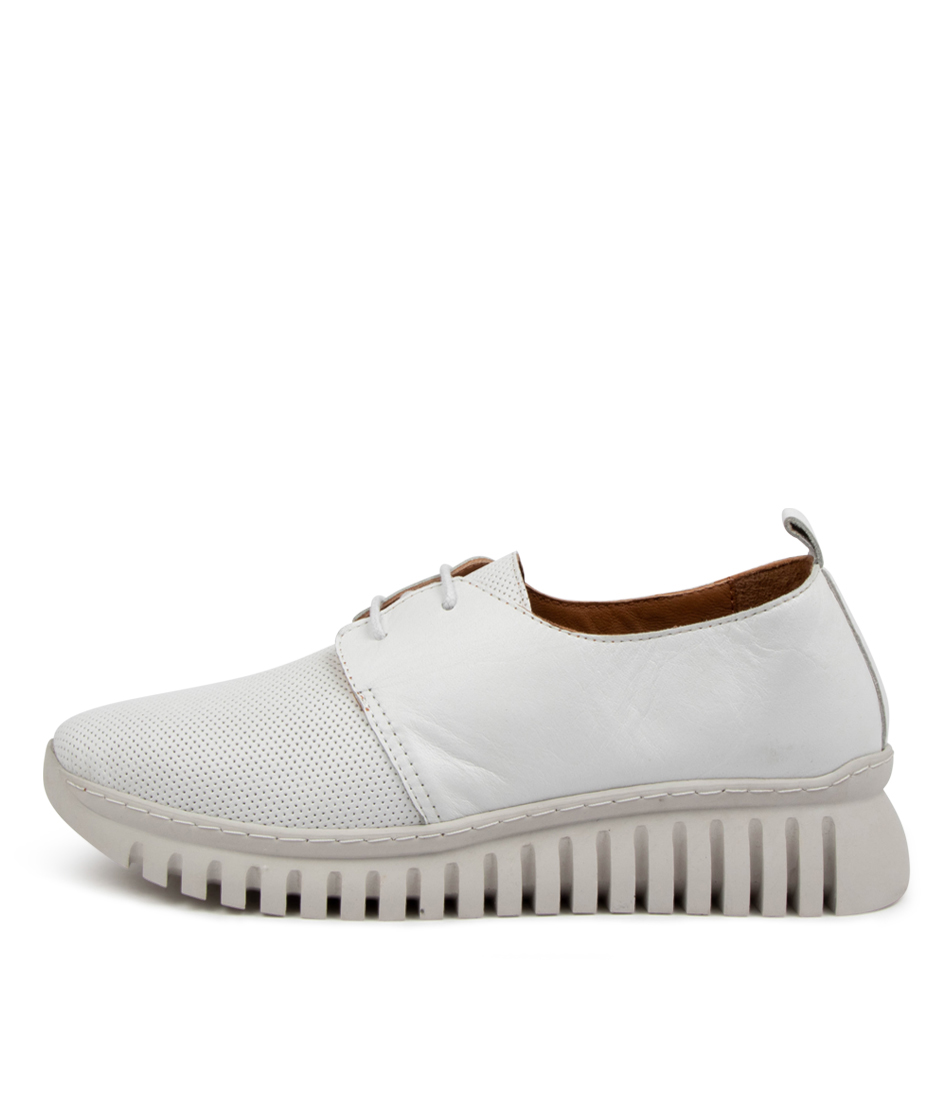 Buy Diana Ferrari Tichalina Df White Sneakers online with free shipping