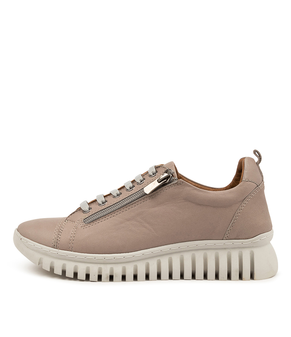 Buy Diana Ferrari Tullon Df Lt Grey Sneakers online with free shipping