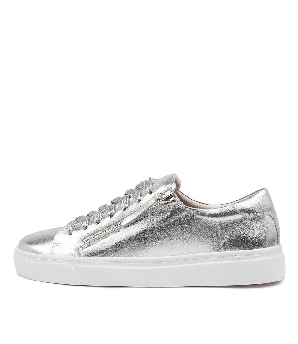 Buy Diana Ferrari Oneeite Df Silver High Heels online with free shipping