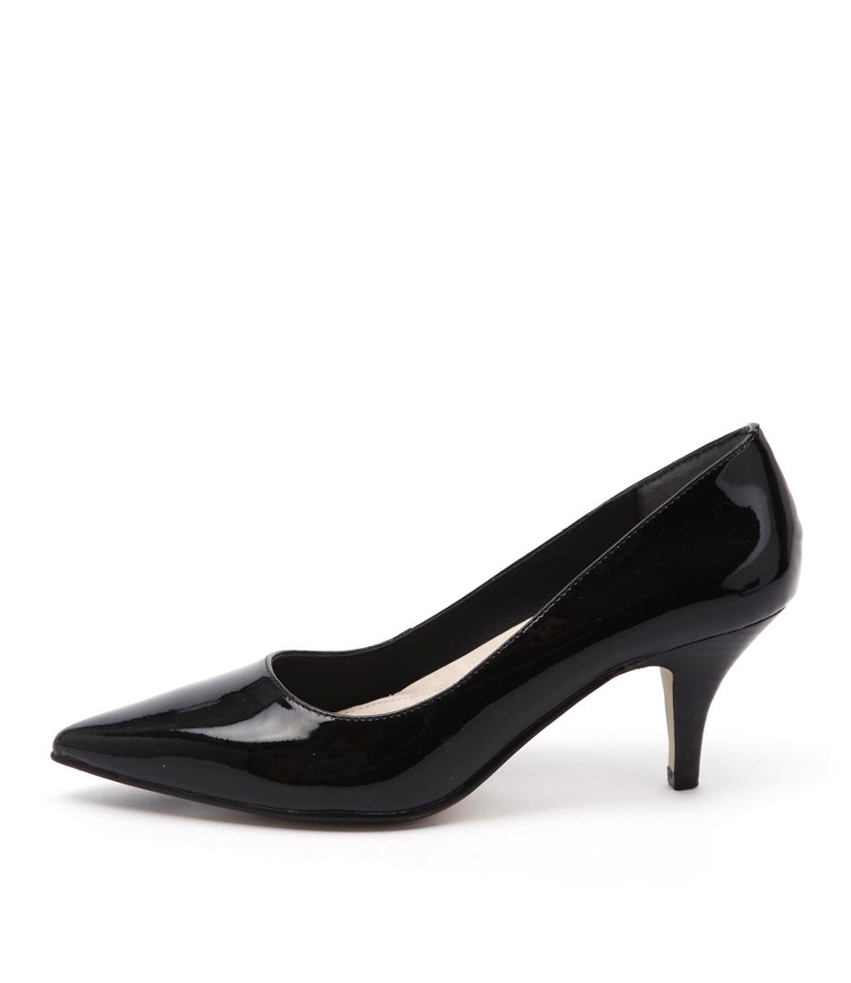 Diana Ferrari Matisse Black Dress Heeled Shoes
