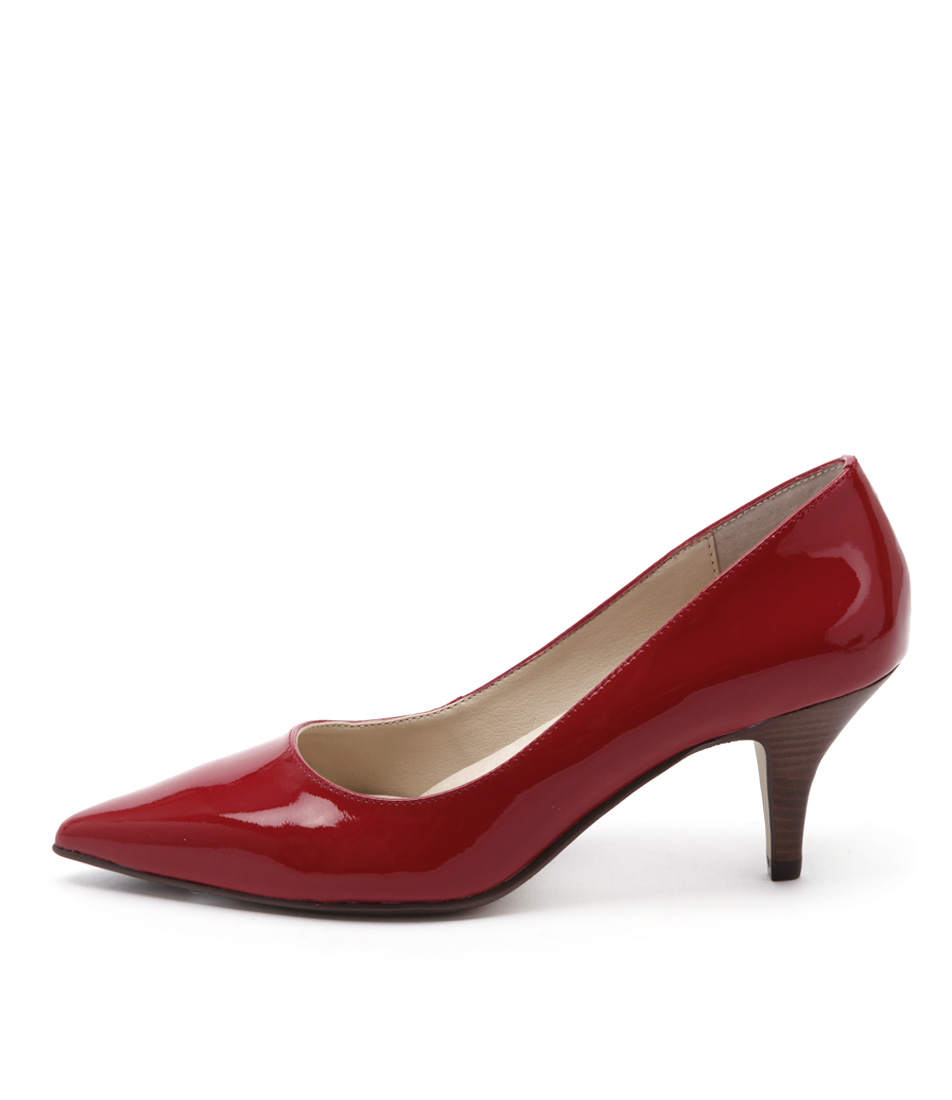 Diana Ferrari Matisse Red Dress Heeled Shoes