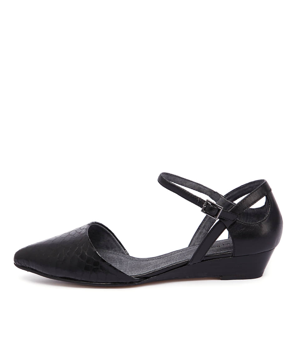 Diana Ferrari Polaris Black Black Shoes