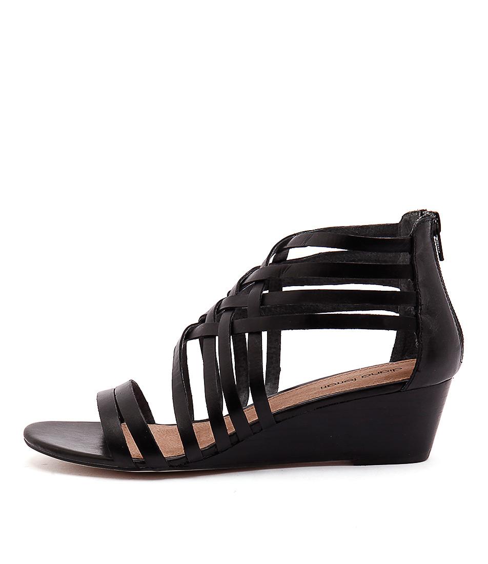 Diana Ferrari Jarva Black Heeled Sandals
