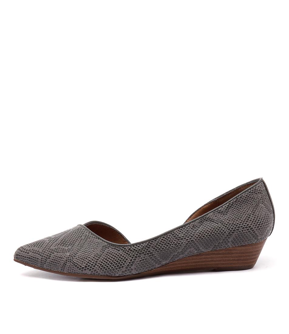Diana Ferrari Prance Grey Shoes