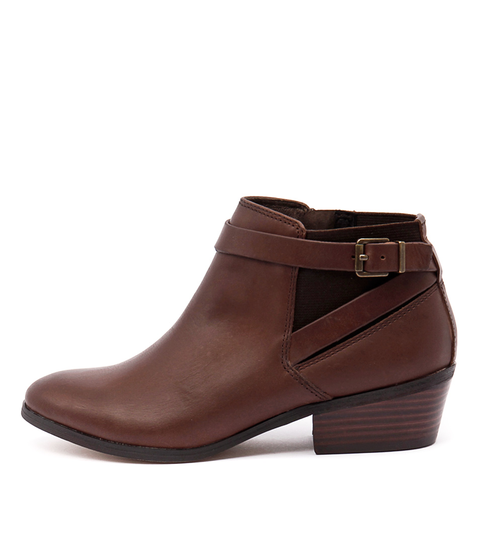 Diana Ferrari Gavel Brown Ankle Boots