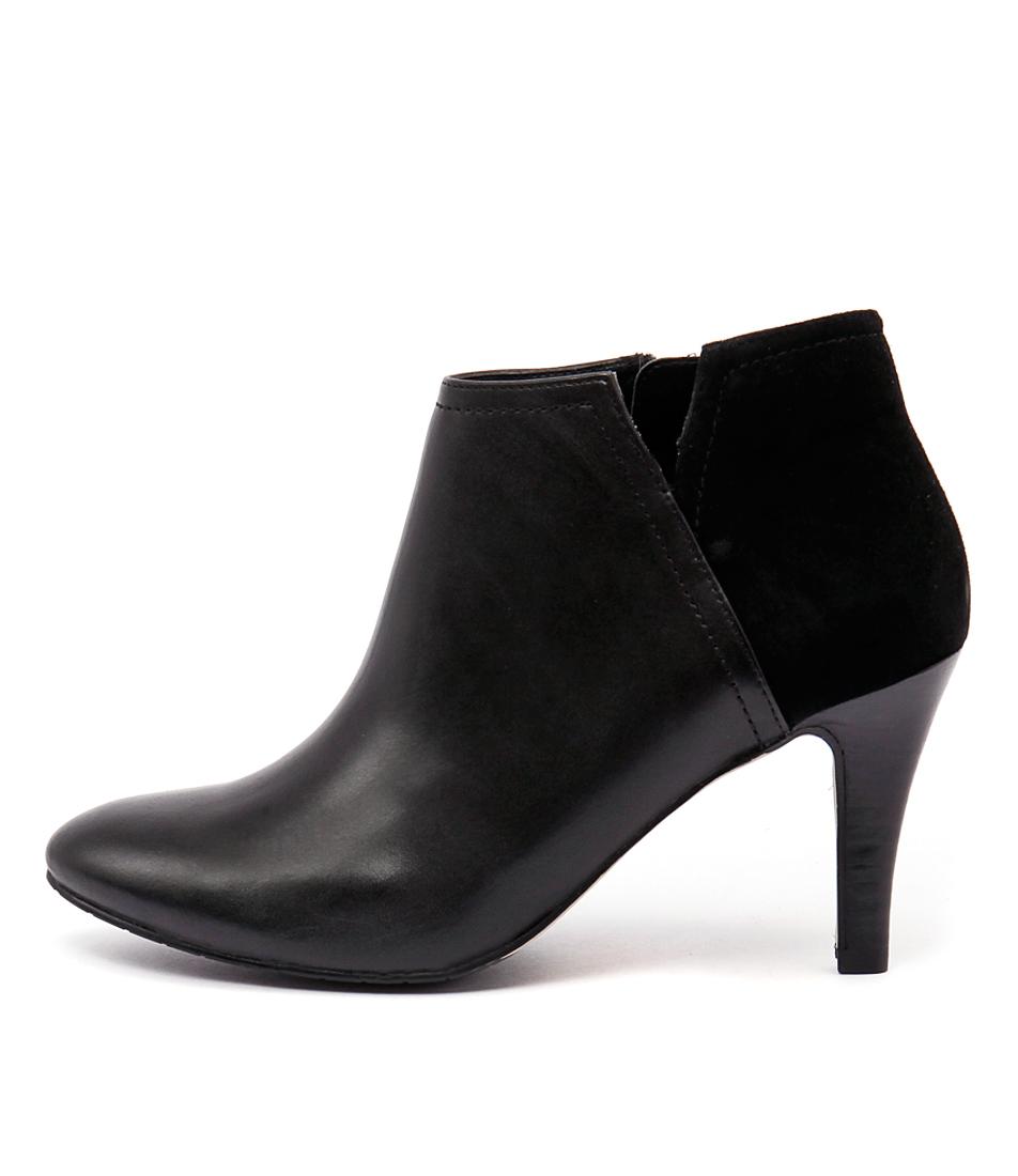 Diana Ferrari Juju Black Casual Ankle Boots