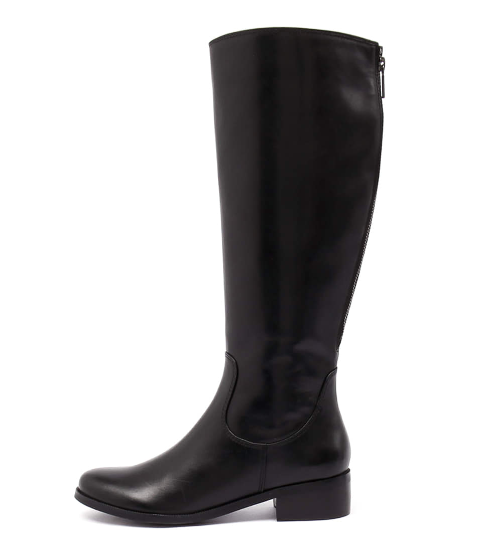Photo of Diana Ferrari Ambree Black Long Boots womens shoes