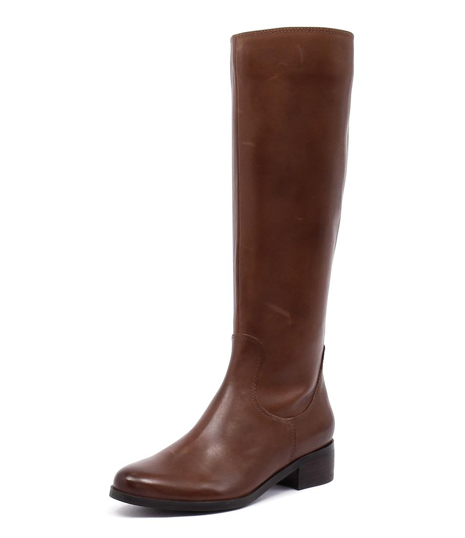 New Diana Ferrari Ambree Tan Womens Shoes Casual Boots