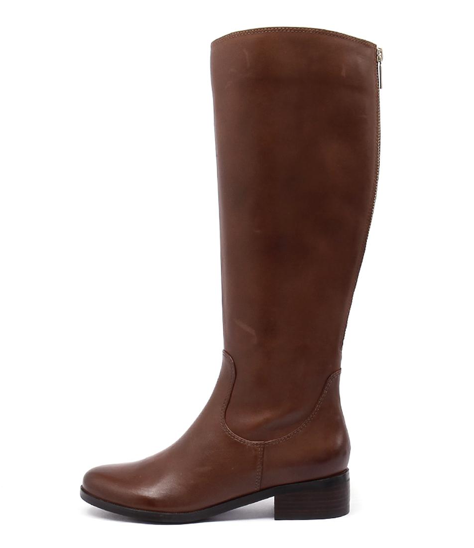 Diana Ferrari Ambree Tan Boots  Long Boots