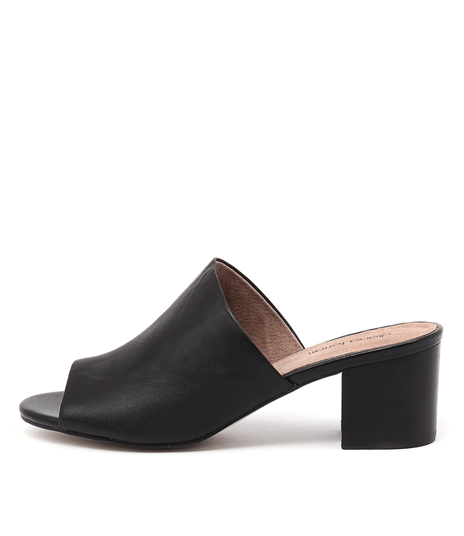 Diana Ferrari Asher Black Sandals