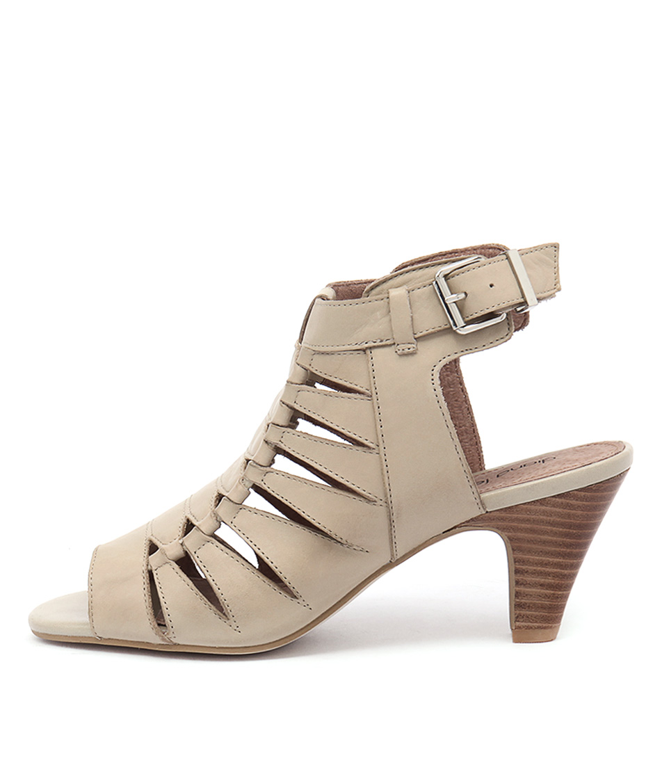 Diana Ferrari Rancho Oatmeal Casual Heeled Sandals