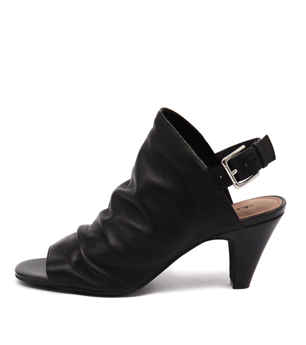 Diana Ferrari Rimona Black Sandals