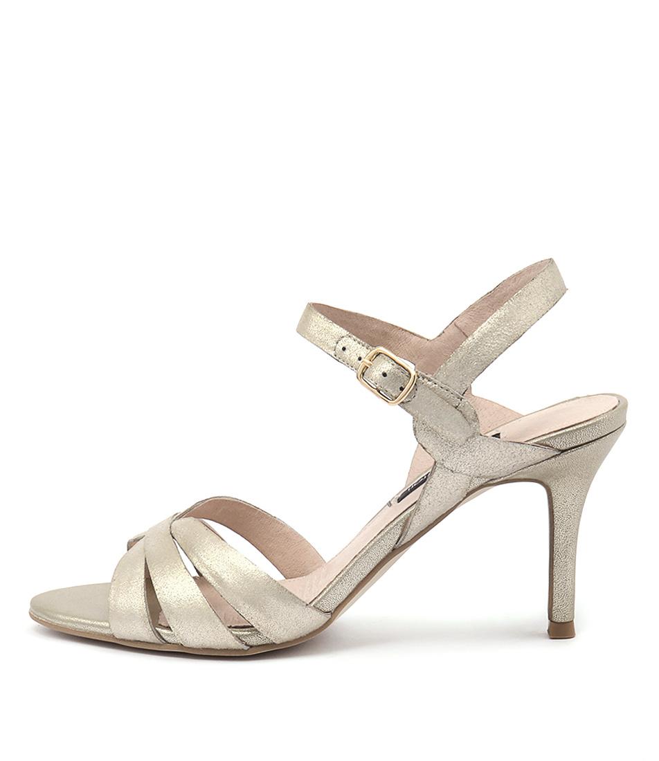 Diana Ferrari Richelle Gold Heeled Sandals
