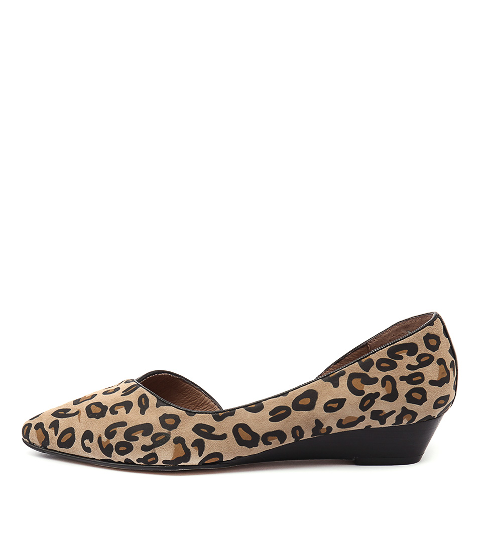 Diana Ferrari Prance Leopard Shoes