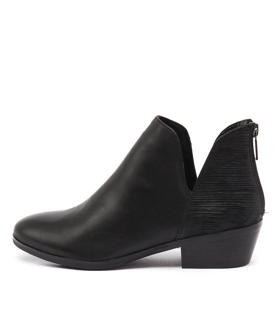 Photo of Diana Ferrari Glacier Black Ankle Boots womens shoes