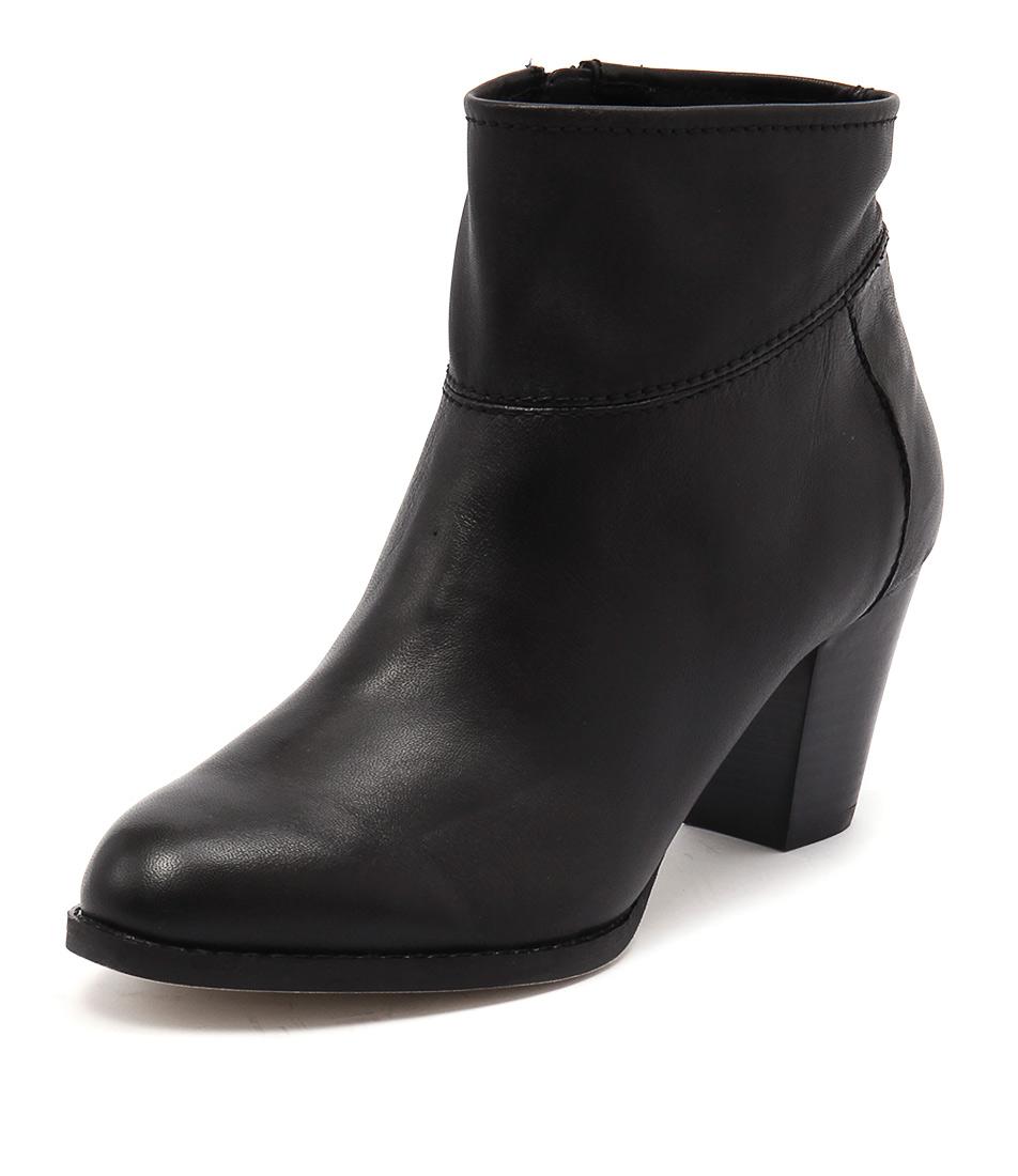 New Diana Ferrari Loredo Black Womens Shoes Casual Boots