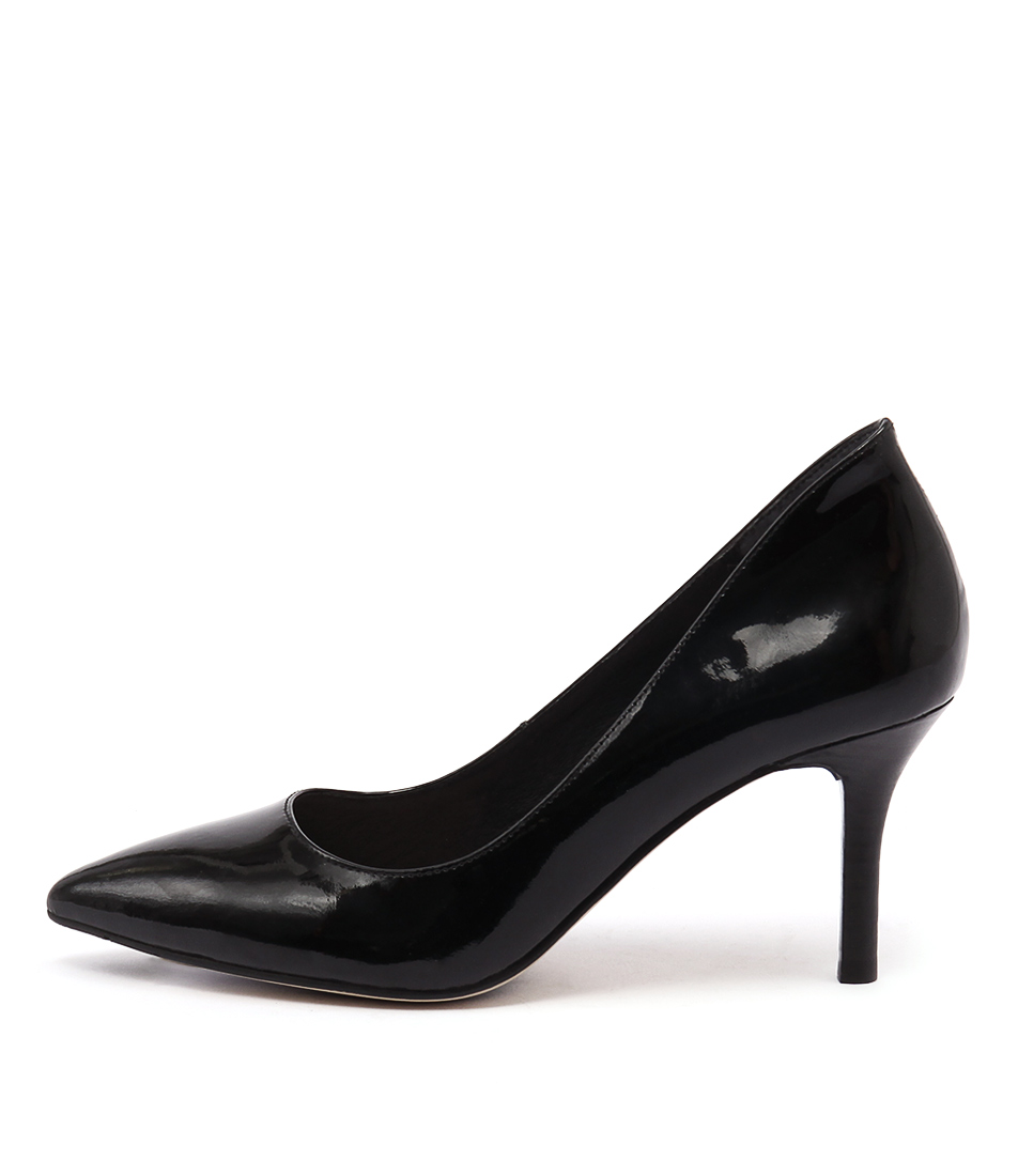 Diana Ferrari Katinka Black Casual Heeled Shoes