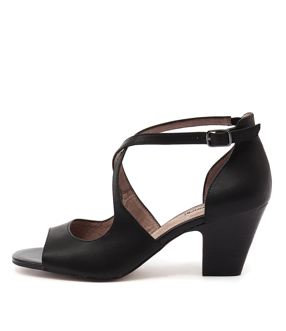 Diana Ferrari Quest Black Sandals